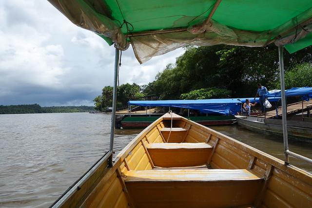 Barco Guiana Francesa ate Brasil