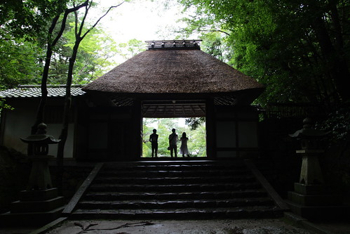 Sanmon Gate, main entrance of Honen-in Temple