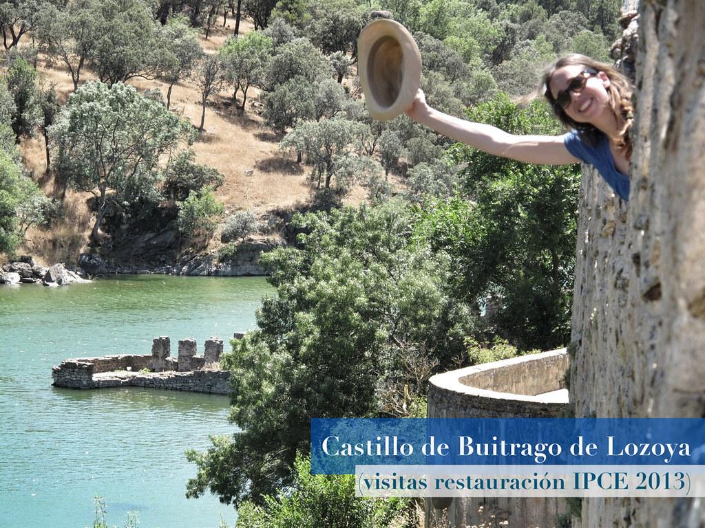 0. castillo buitrago de lozoya_visitas restauración_ipce_coracha_reharq