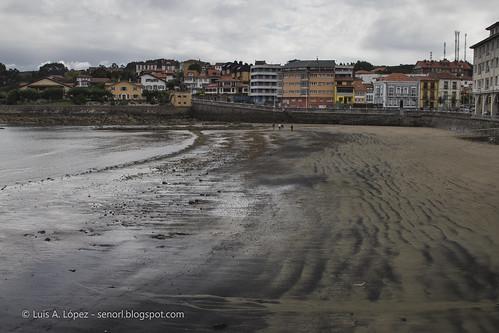 Calles de Luanco (Asturias)