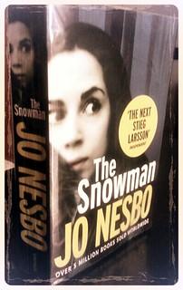 The snowman portada libro Jo Nesbo