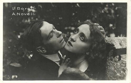 Lyda Borelli and Amleto Novelli in Malombra