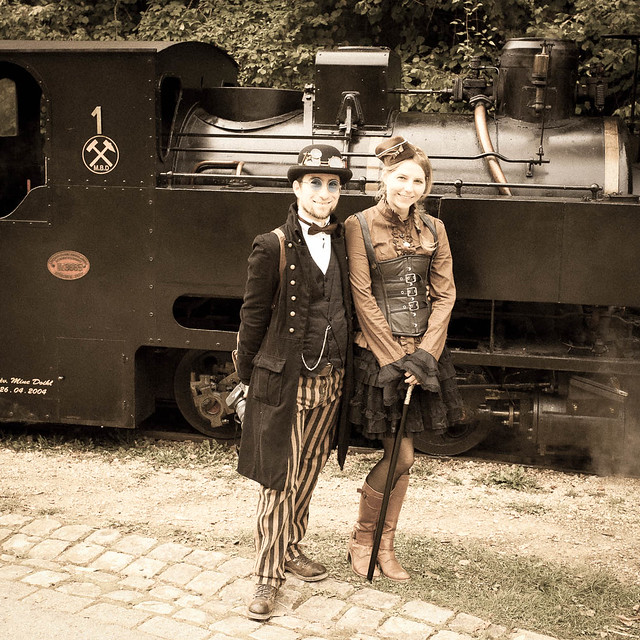 Steampunk, vintage look 1!