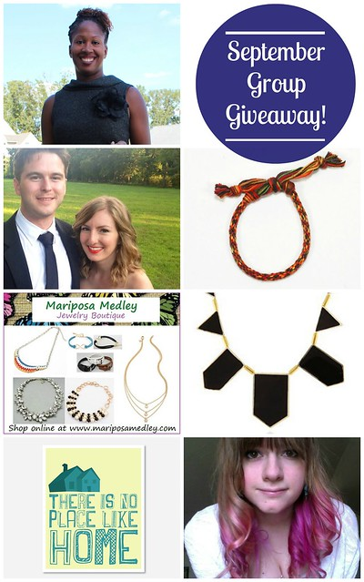 September 2013 Group Giveaway