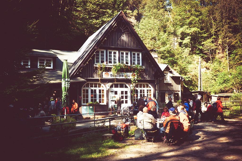 Wirtshaus Waldidylle