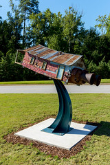 Robbie Barber, (Waco, Texas, born 1964), Dreams of Flying, 2011, welded steel, paint, found objects