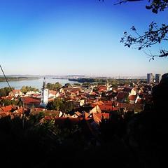 utsikten i Zemun #omgweareinbelgrade
