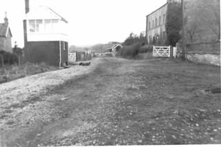 Wellow S&D signal box & station 1969