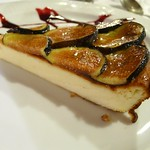 La Nansa: Fig and fresh cheese tart
