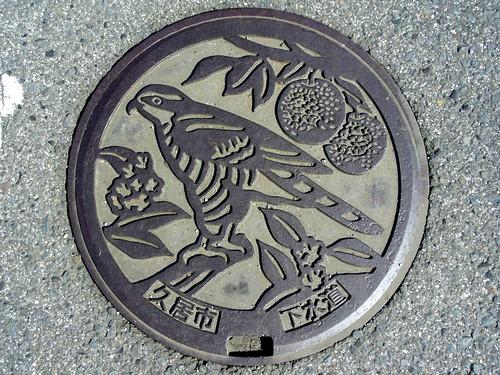 Hisai Mie , manhole cover 2 (三重県久居市のマンホール2)