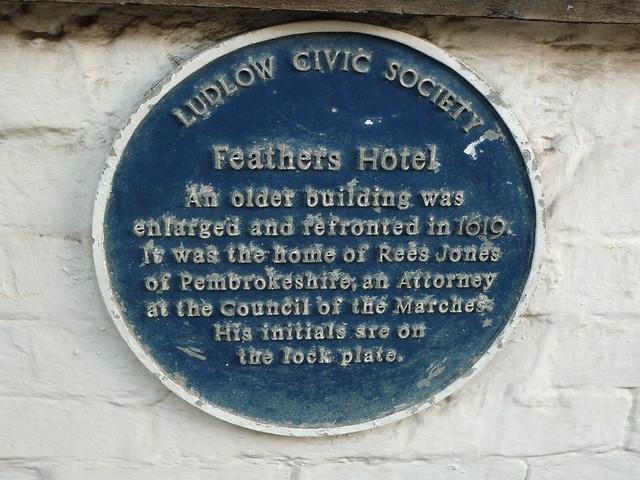 Photo of Rees Jones blue plaque