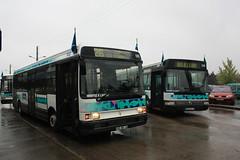 TCAT - RVI R312 n°189 - Ligne 26 et Irisbus Agora S n°248 - Ligne 1