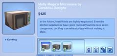Molly Mega's Microwave by Corebital Designs