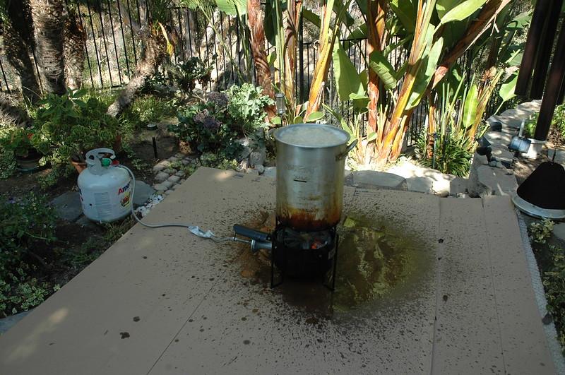Frying turkey on Food52
