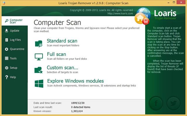 Loaris Trojan Remover 1.2.9.8 破解版
