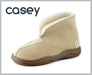 Canterbury Sheepskin 'Casey' slippers