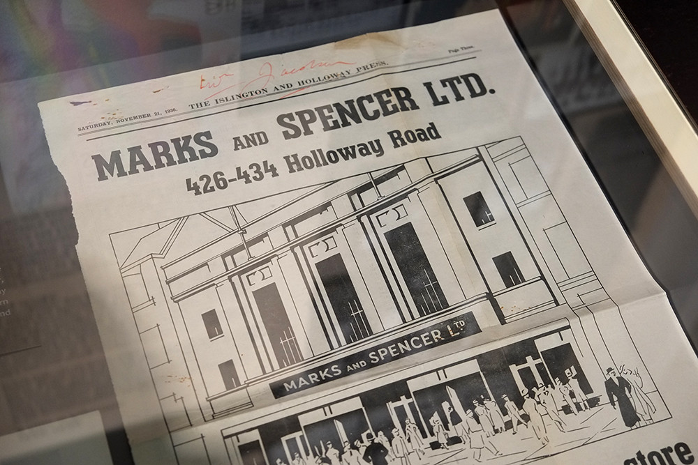 marks and spencer company archive