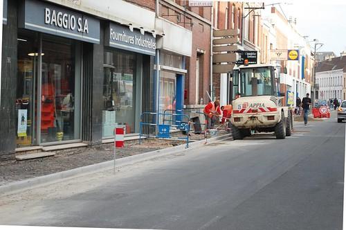 Les chantiers en cours bonjour carvin for Rue salvador allende poitiers