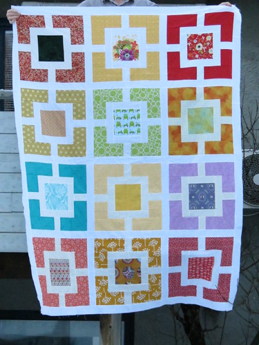 Quilttop Gardenfence EuroSiblingTogether