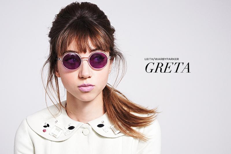 Leith x Warby Parker: Greta Sun Crystal | www.latenightnonsense.com