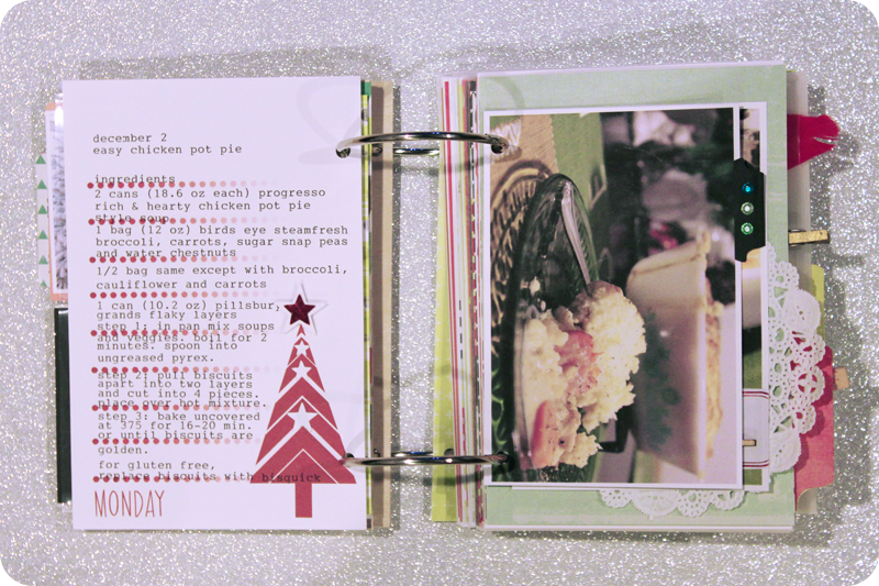 {december 2} christmas countdown mini | page 1