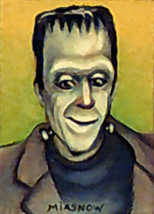 MIASNOW Drawing Nov 2013 Herman Munster