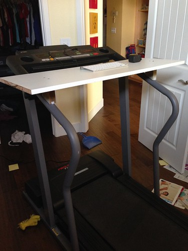 Treadmill desk beta