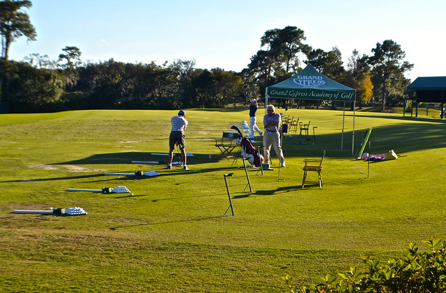 Cypress Gardens Villas and Golf Resort, Orlando Florida - driving range