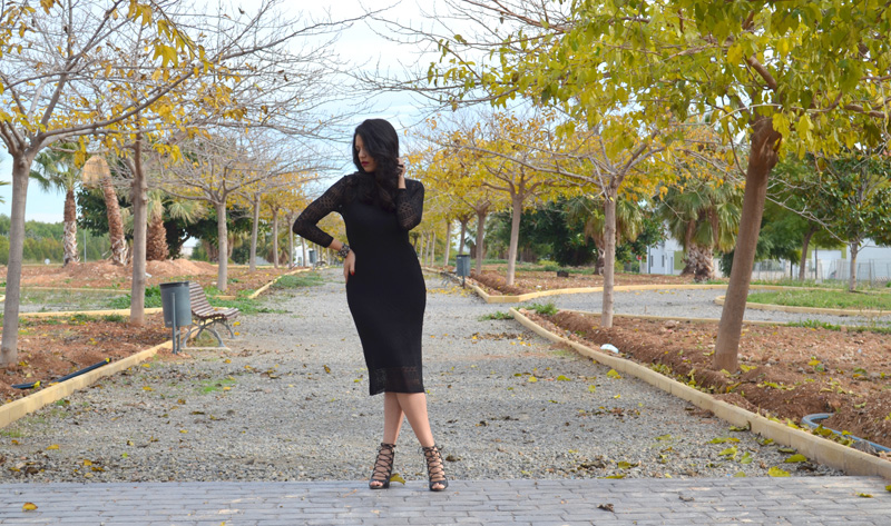 zara knit dress collection florencia blog