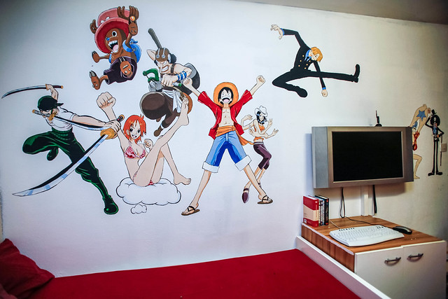When Daddy Got Bored (One Piece Wall Art)