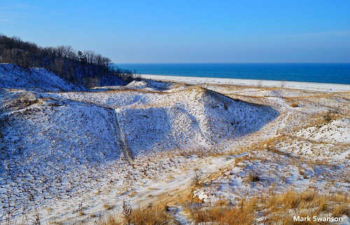 travel sky lake snow seascape color beach nature sunrise landscape sand nikon exposure michigan dunes lakemichigan greatlakes lakeshore polarizer circular d5100