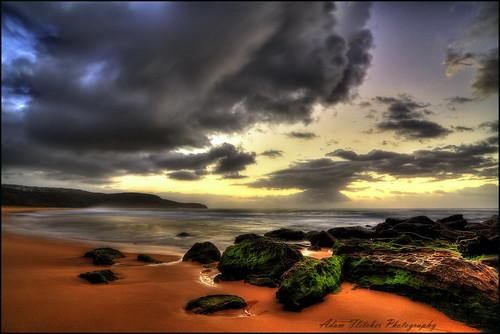 beach clouds sunrise canon moss rocks nsw centralcoast sigma1224mm hdr killcarebeach canoneos5dmark2 siggy1224mm