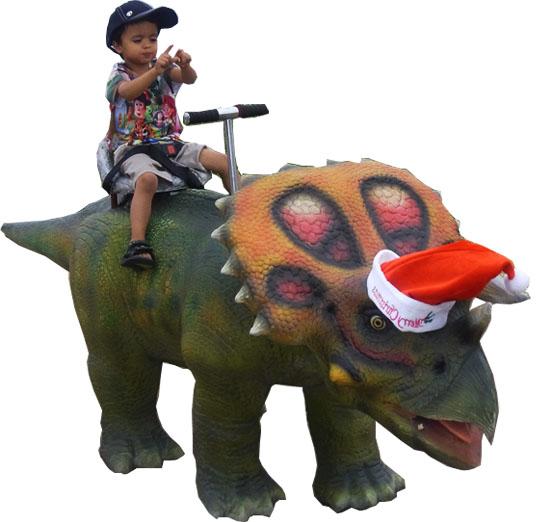 Walking Dinosaur Ride
