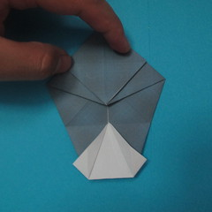 วิธีการพับกระดาษเป็นรูปนกเค้าแมว 015