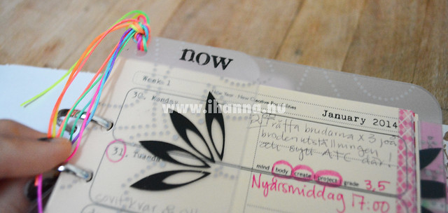 Diy Calendar Tabs : Diy calendar cream colored pages ihanna s