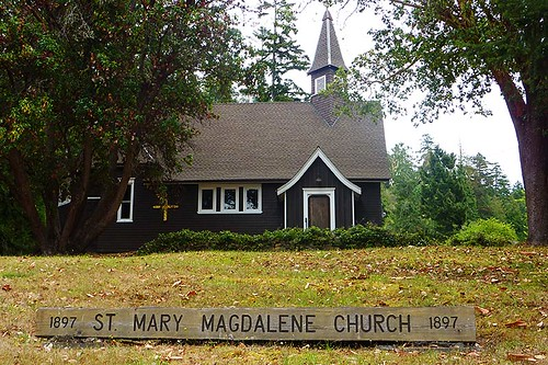 St. Mary Magdalene Church, Mayne Island, Southern Gulf Islands, British Columbia