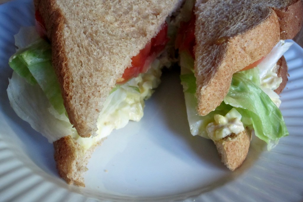 sandwich #19: tuna & egg salad