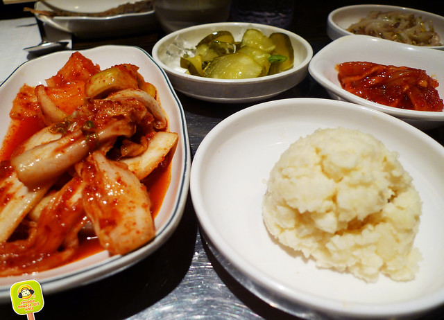 BCD tofu - Banchan - unlimited