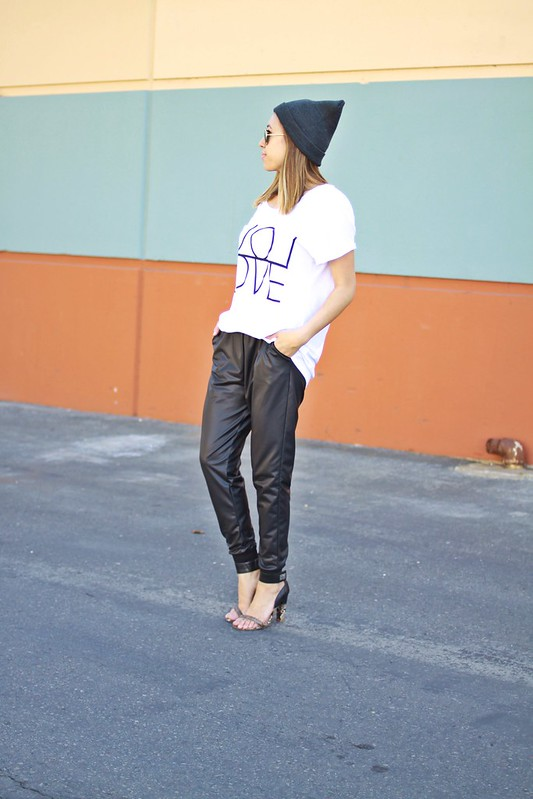 lucky magazine contributor,fashion blogger,lovefashionlivelife,joann doan,style blogger,stylist,what i wore,my style,fashion diaries,outfit,wardrobe,fe clothing,foreign exchange clothing,haute house pr,beanie with ears,jogger pants