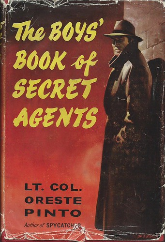 The Boys' Book of Secret Agents by Covers etc