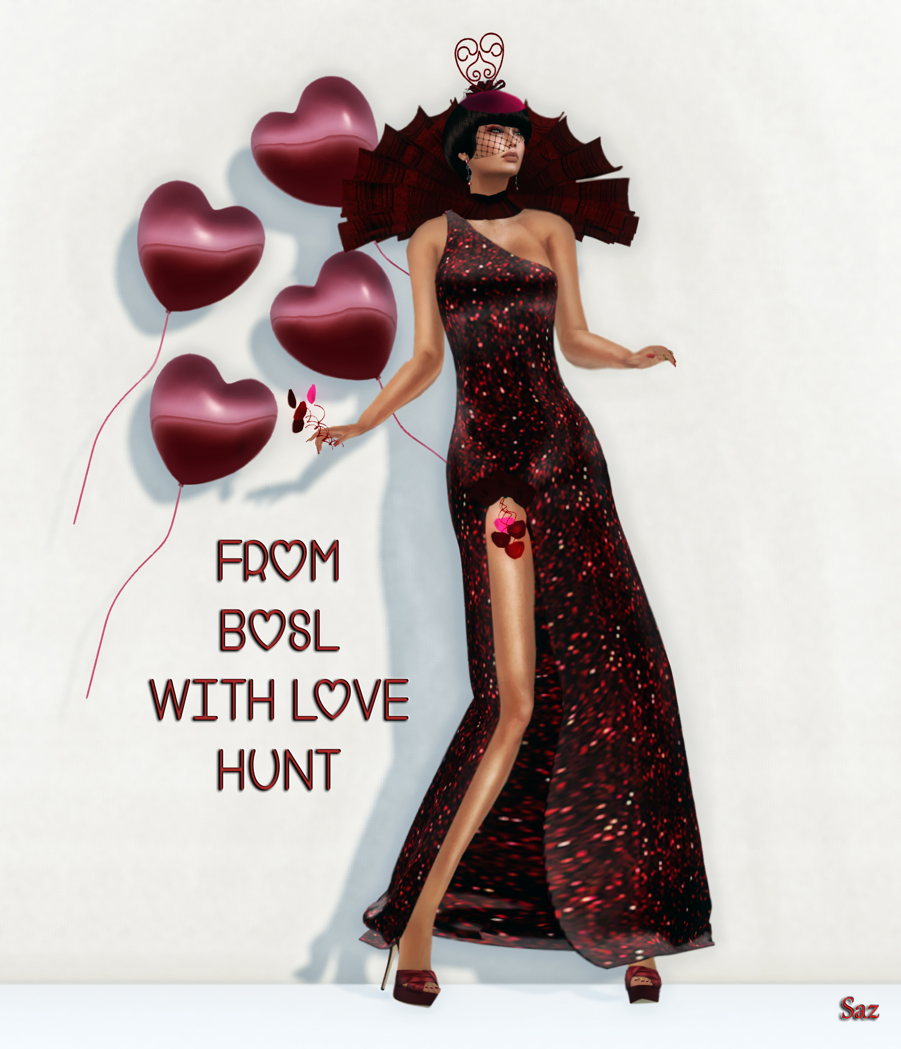 BOSL Love Hunt - (C) and In-Pose!