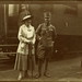 1921 October. The Second Royal coup d'état. Zita, Queen of Hungary and Charles IV of Hungary at a railway station by elinor04