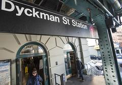 Dyckman St. 1 Station Rehab