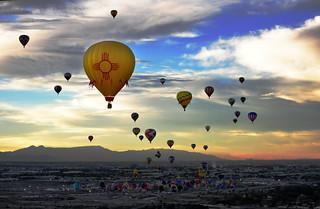 New Mexico Balloon