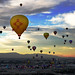 New Mexico Balloon by Len Radin
