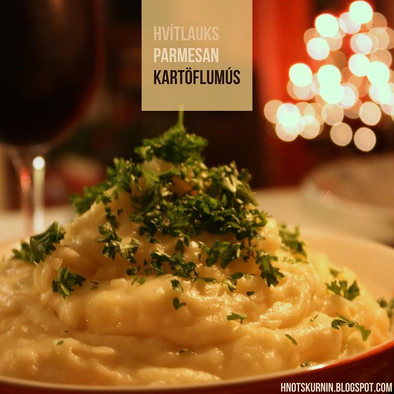 Hvítlauks-parmesan kartöflumús