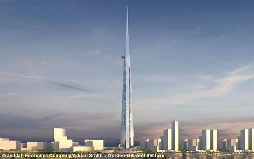 沙特造世界最高楼
