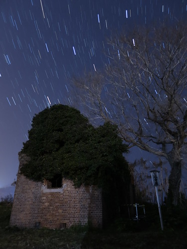PowerShot S120 sample : Star Trails 10min.