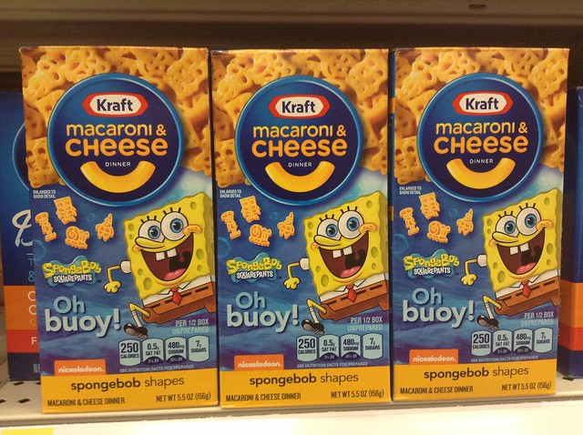 12845404815 1139d6cbcb z jpgKraft Macaroni And Cheese Spongebob