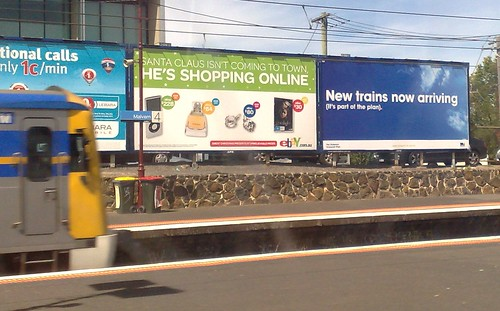 Victorian Transport Plan advertising, December 2009
